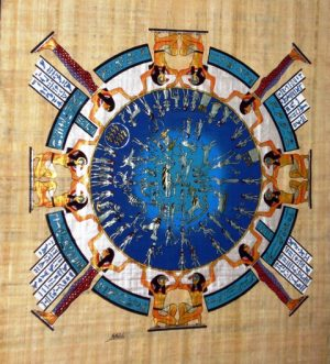 ancient egyptian sun calendar 300x331