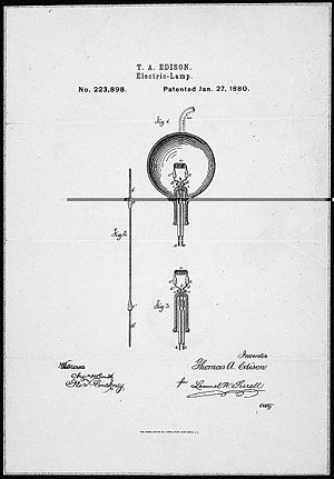 Thomas Edison's Patent Application For an inca...