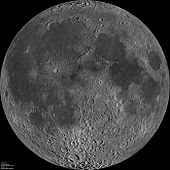 near and far side of the moon
