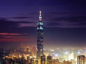 The Worlds Fastest Elevator at Taipei 101 300x224