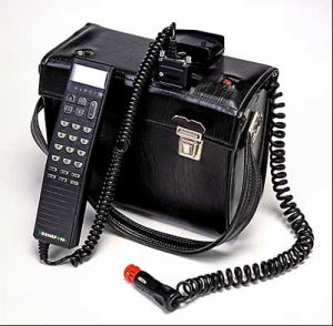 1984 Nokia Mobira Talkman With a box as big the excuse of dead battery does not pass 300x294