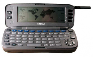 1996 Nokia 9000 Communicator Or the first version of what could be a smartphone 300x183