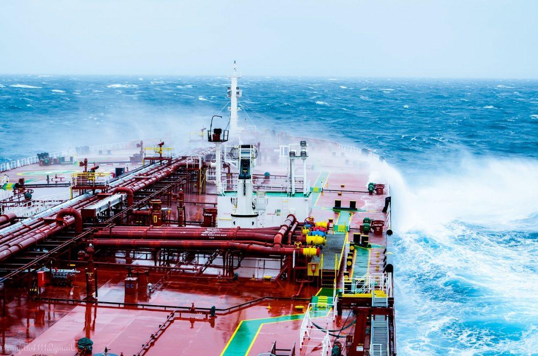 Ocean Ocean Waves Water Sea Vessel